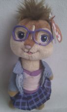 Adorable My 1st 'Jeanette' Alvin & the Chipmunk The Squeakquel Plush + Tag